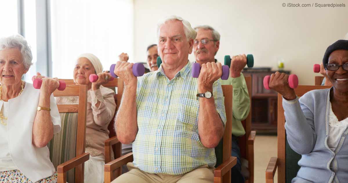 Senior fitness and exercise: Tips for frail or chair-bound seniors